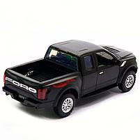 Машинка инерционная Автопром «Ford F-150» Черный со световыми и звуковыми эффектами (7864), фото 4