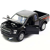 Машинка інерційна Автопром «Ford F-150» Чорний зі світловими і звуковими ефектами (7864), фото 5