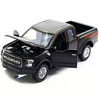Машинка инерционная Автопром «Ford F-150» Черный со световыми и звуковыми эффектами (7864), фото 5