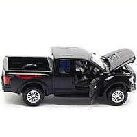 Машинка інерційна Автопром «Ford F-150» Чорний зі світловими і звуковими ефектами (7864), фото 6