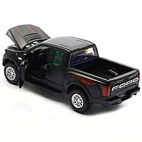 Машинка инерционная Автопром «Ford F-150» Черный со световыми и звуковыми эффектами (7864), фото 7