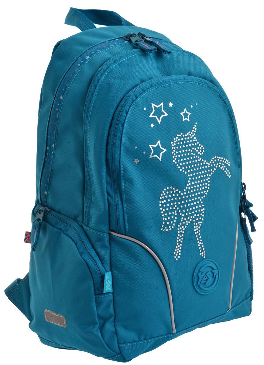 Рюкзак школьный YES T-26 Lolly Unicorn код: 556491