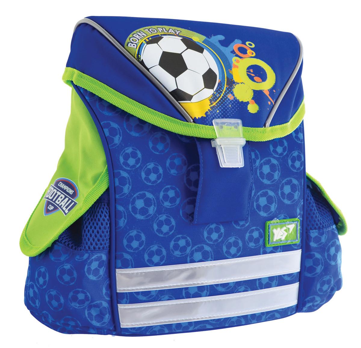 Рюкзак детский дошкольный ортопедический каркасный YES K-27 Born To Play код: 556529