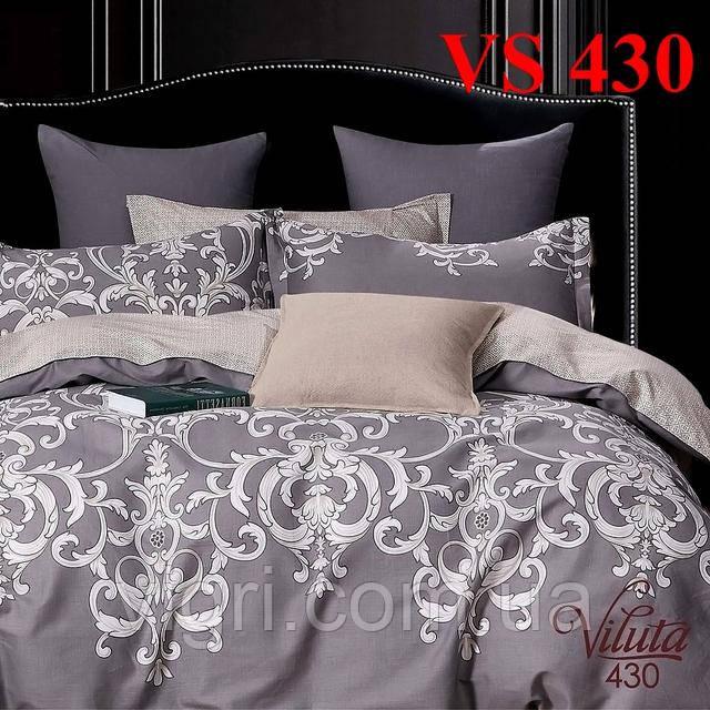 Постельное белье двуспальное, сатин, Вилюта «Viluta» VS 430