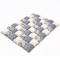 Детское одеяло для малышей 0-2 года, 120х85, серый/бежевый, фото 1