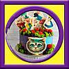 """Торт """"Чеширский кот"""" на детский день рождения"""