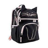 """Рюкзак школьный YES S-39 """"Meow"""" , код: 558338"""