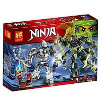 Конструктор Ninja «Битва механических титанов» (Lele), фото 1