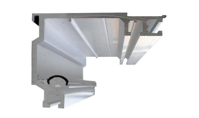 Змінна рейки для автоматичних дверей KBB 4.2 м art.KBB42001
