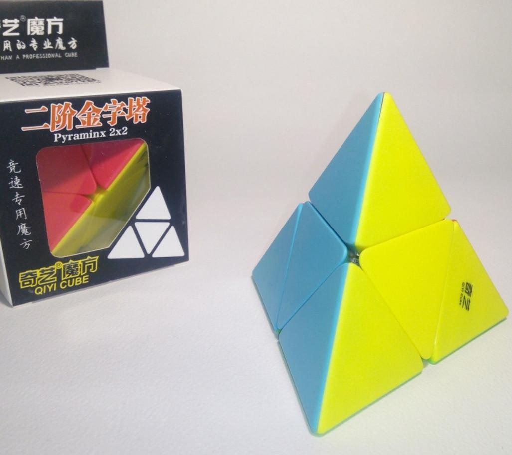 Пирамидка Рубика 2×2 Qiyi Mo fang ge пираморфикс