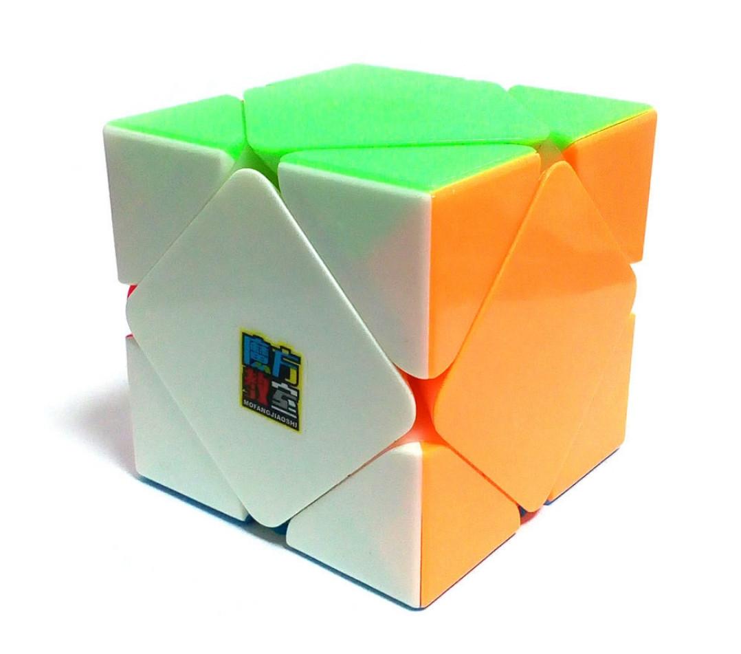 Скьюб MoYu MoFangJiaoShi Skewb Cube цветной пластик