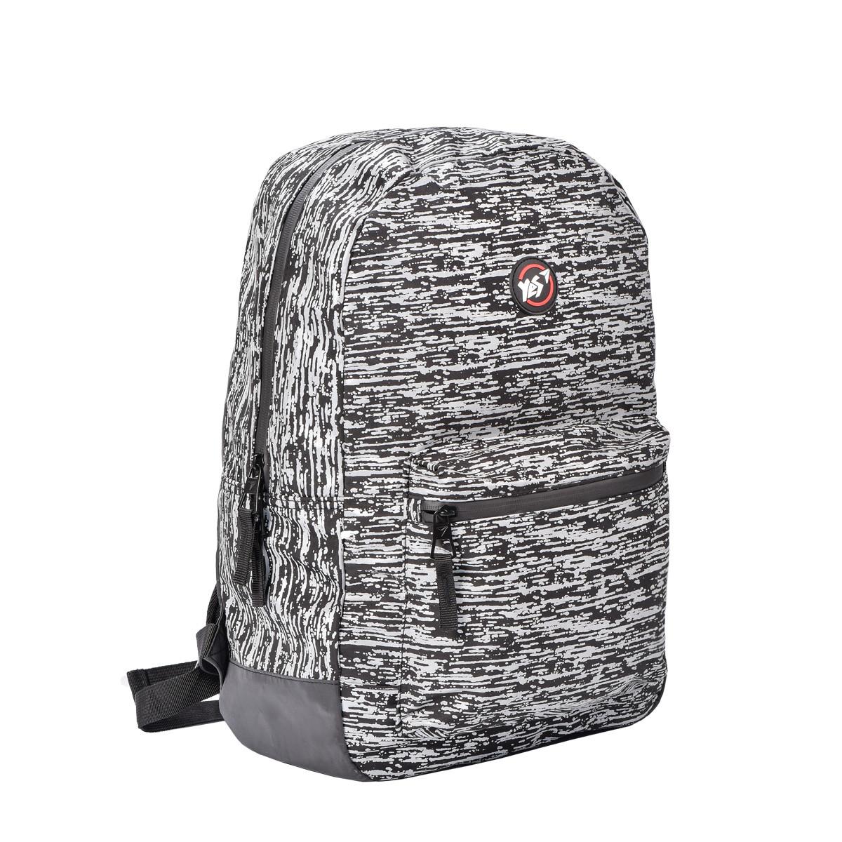 Рюкзак городской светоотражающий YES R-02 Agent Reflective серый код: 558518