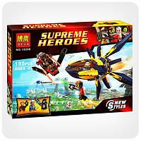Конструктор Super Heroes «Битва с использованием звёздных бластеров», фото 1
