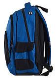 Рюкзак школьный Smart SG-25 Navy код: 557111, фото 3