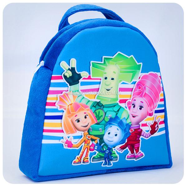 Рюкзачок «Фиксики» - сине-зеленый