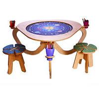 Детский развивающий стол DaisySign KidSpace и стульчики