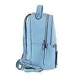 Рюкзак женский YES YW-47 «Bennito» голубой код: 557806, фото 3