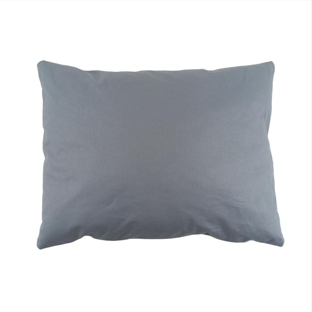 Подушка, 45*35 см, (хлопок), (серый)