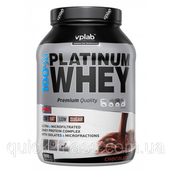 Протеїн VPLab 100% Platinum Whey 908g