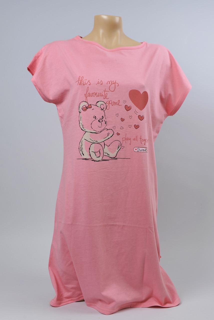 Жіноча туніка З+3 2101 S рожевий