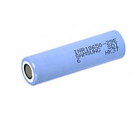 Аккумулятор 18650 Li-Ion Samsung INR18650-29E (SDI-6), 2900mAh, 8.25A, 4.2 / 3.65 / 2.5V, ціна аз шт, Blue