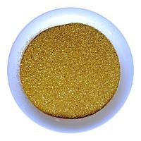 Присыпка - блеск (глиттер), около 1 кг, яркое золото