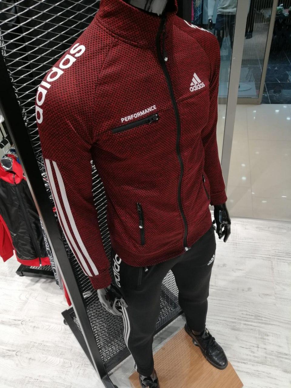 Спортивный костюм Adidas Perfomance (красный)