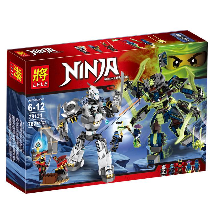 Конструктор Ninja «Битва механических титанов» (Lele)