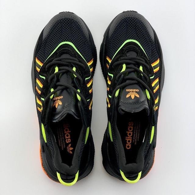 Adidas Ozwego зеленые фото
