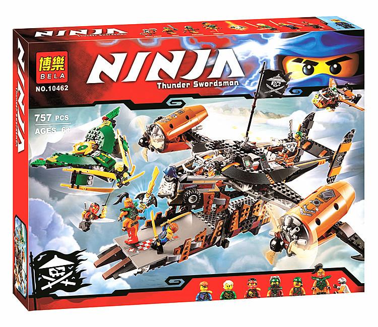 Конструктор Ninja Пираты «Цитадель Несчастья» (Bela)