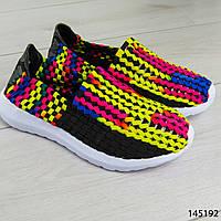 """Мокасины женские, """"Kambo"""" текстильные, слипоны женские, кроссовки женские? обувь женская повседневная"""