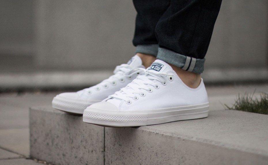 Кеды Converse Style All Star 2 Белые низкие (37 р.) Тотальная распродажа