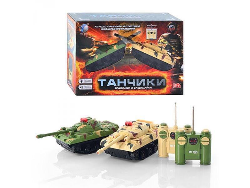 Танковый бой на радиоуправлении (звук, свет) T83-D765/2102-2B
