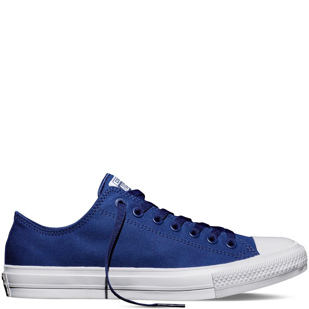 Кеды Converse Style All Star 2 Синие низкие (37 р.) Тотальная распродажа