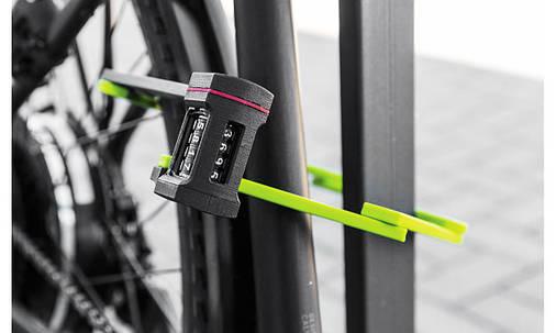 Велозамок ABUS 5700C/80 Bordo uGrip Lime, фото 2
