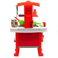 Набор детский «Кухня HappyChef» (свет, звук, посуда, продукты) 661-91, фото 5