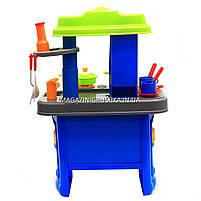 Набор детский «Кухня маленькой хозяюшки» (свет, музыка) (салатово-голубая), фото 6