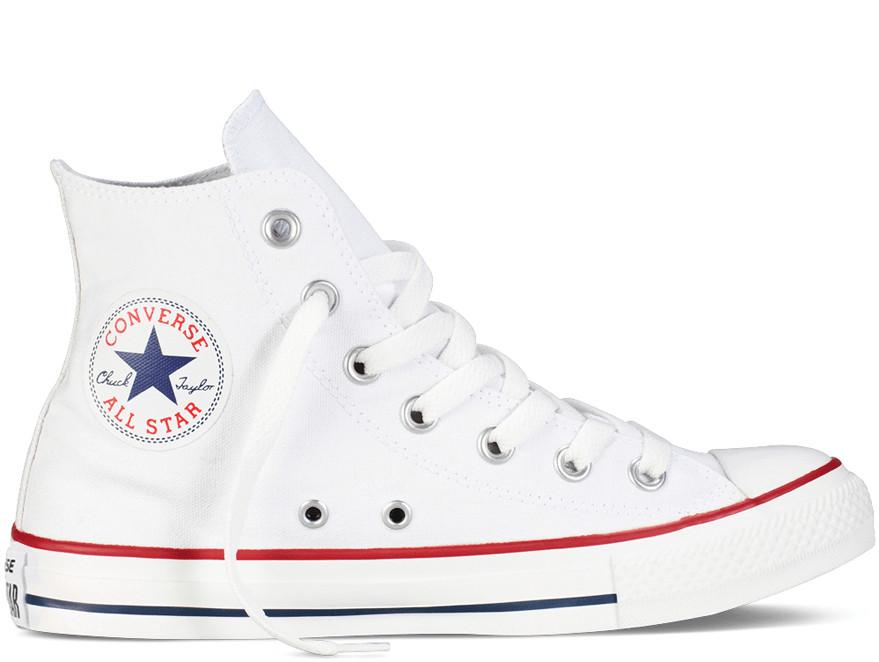 Кеды Converse Style All Star Белые высокие (37 р.) Тотальная распродажа