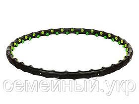 Обруч массажный Hula Hoop. MS 0455. Материал: пластик. Диаметр: 98 см. Черный, фото 3