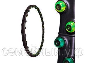 Обруч массажный Hula Hoop. MS 0455. Материал: пластик. Диаметр: 98 см. Черный, фото 2