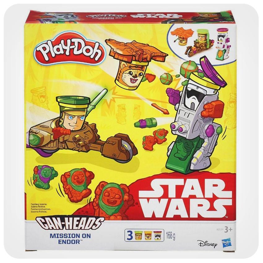 Набір для ліплення Play-Doh «Транспортні засоби героїв зоряних воєн»