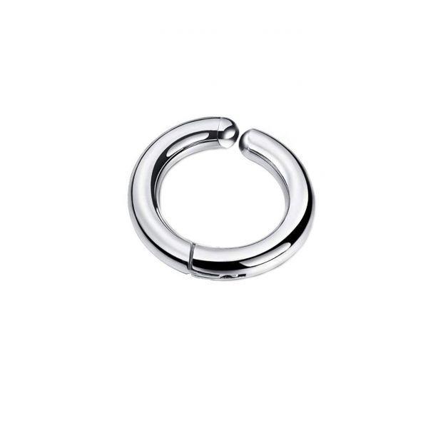 Клипса мужская хард серьга кольцо-обманка 175982