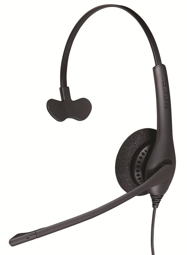 Профессиональная проводная аудио гарнитура для call-центров Jabra BIZ 1500 Mono USB