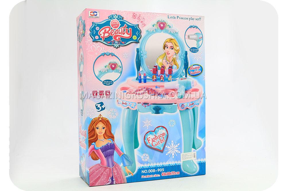 Туалетний столик для дівчинки «Прекрасна принцеса» (світло, музика) 008-905