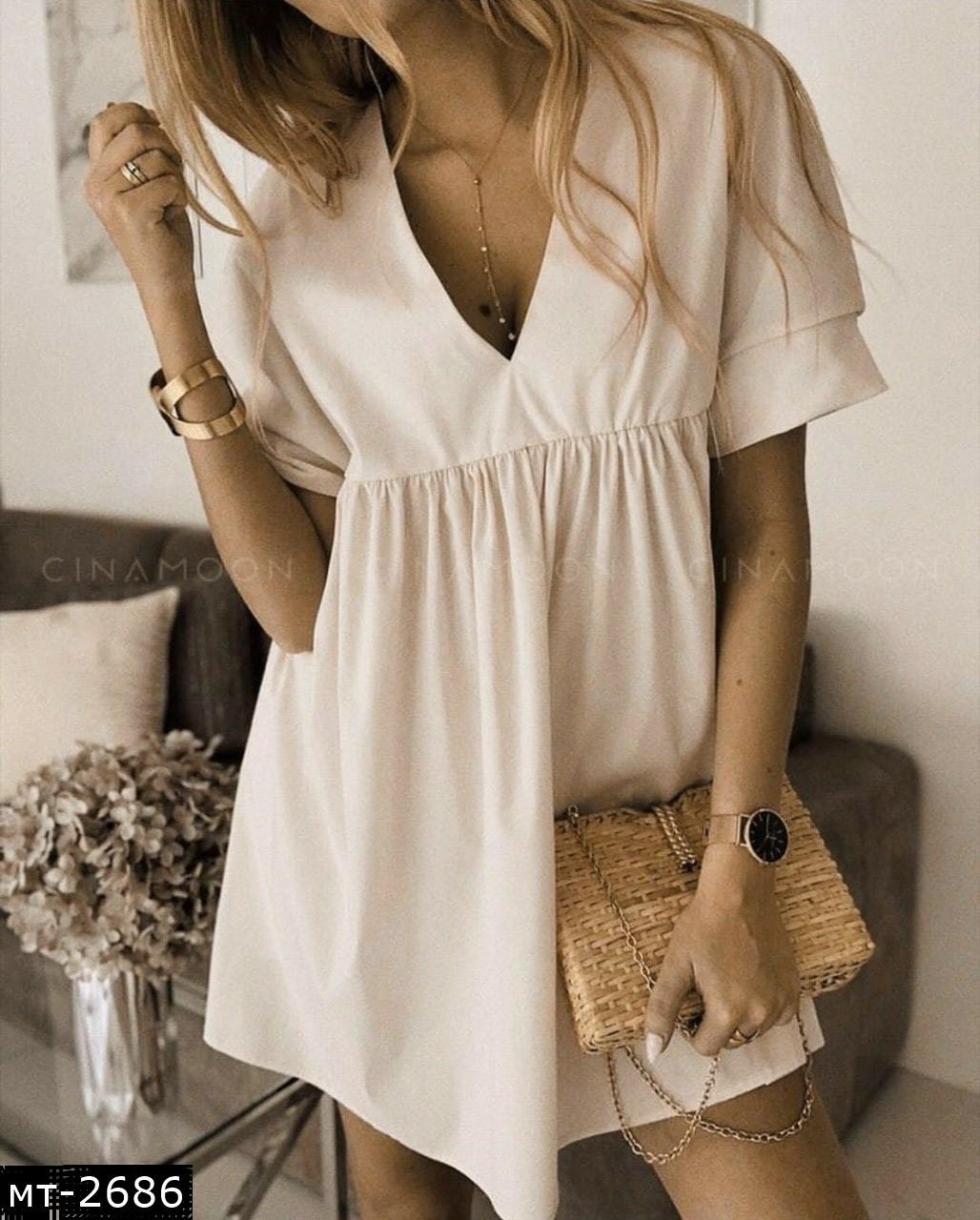 Женское очаровательное платье разлетайка