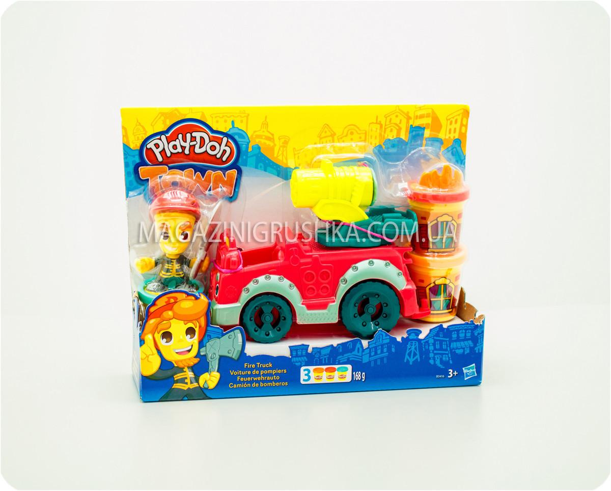 """Набір пластиліну Play-Doh Місто """"Пожежна машина"""", B3416"""