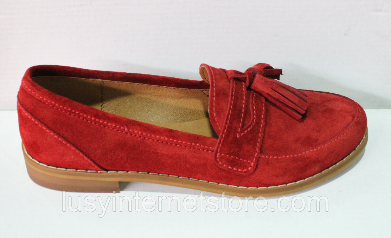 Туфли замшевые женские от производителя модель ЖК300