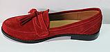 Туфли замшевые женские от производителя модель ЖК300, фото 3