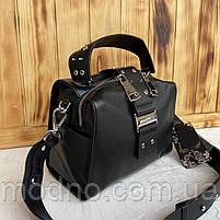 Женская стильная кожаная сумка через плечо Polina & Eiterou, фото 6