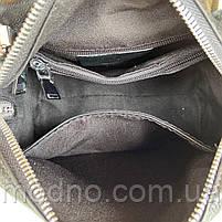 Женская стильная кожаная сумка через плечо Polina & Eiterou, фото 10